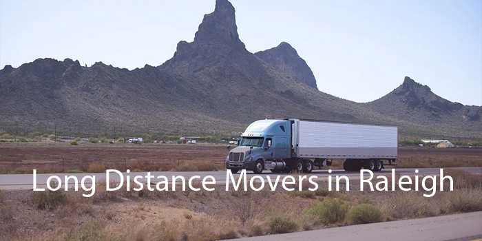 Long Distance Movers in Raleigh